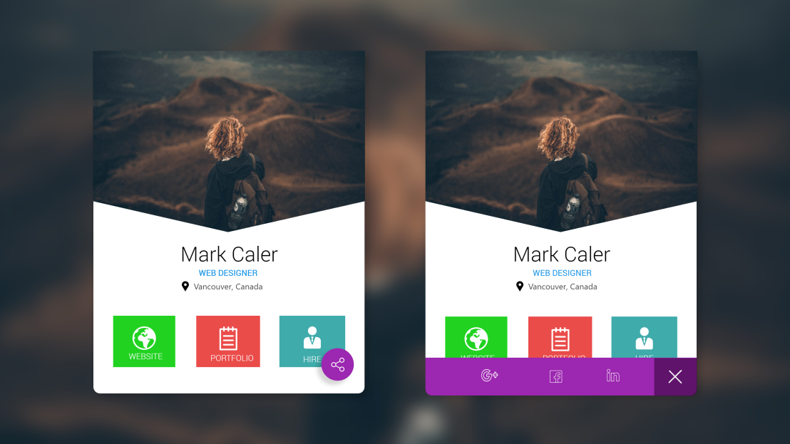Daily UI Challenge: 010 (Social Share Design)